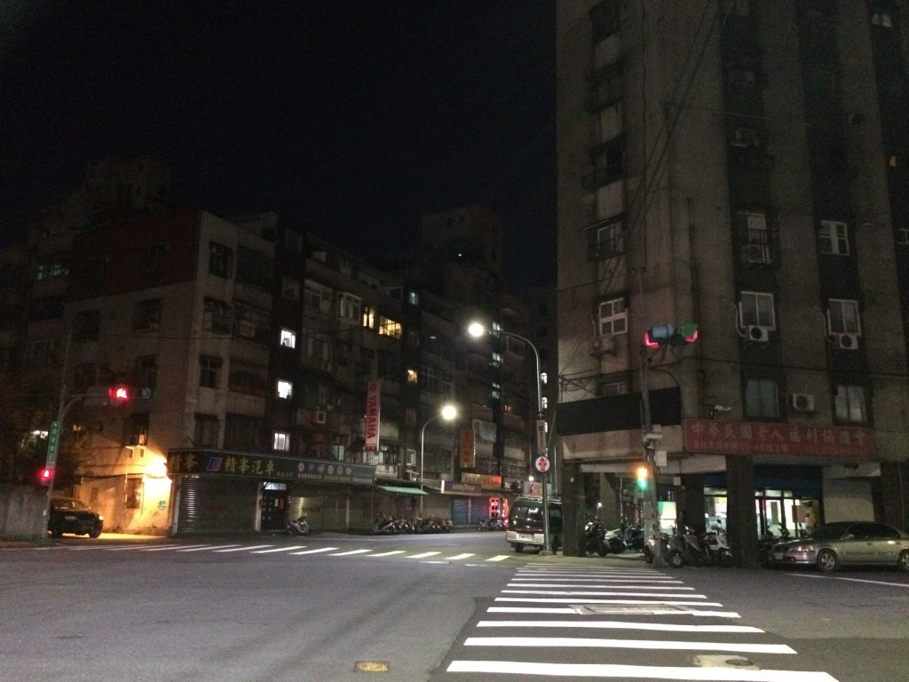 Taipei streets at 5:30am