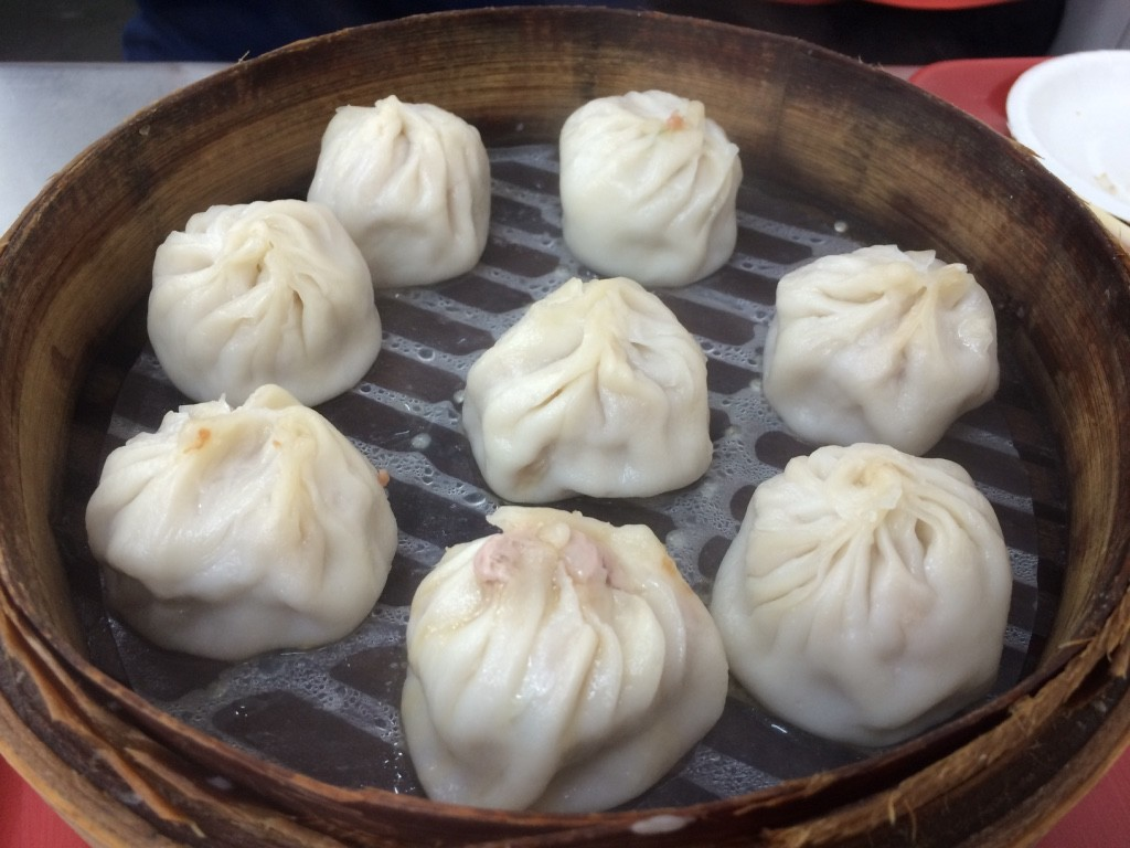 They're not known for their XLBs but we gave it a try. They weren't nearly as delicate as DTF but they were still pretty good (10 dumplings for 80 NT = $3.25)