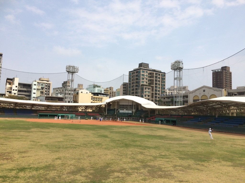 Doosan Bears practicing