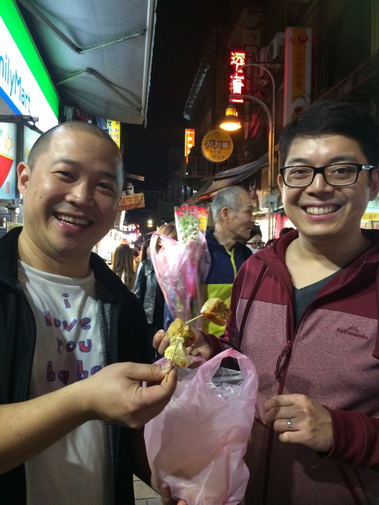 Cheers to stinky tofu!