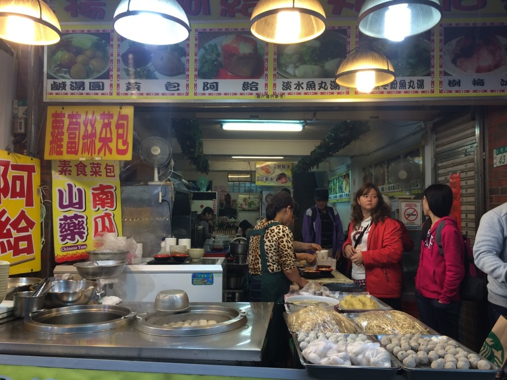Tamsui restaurant that served more traditional Tamsui dishes
