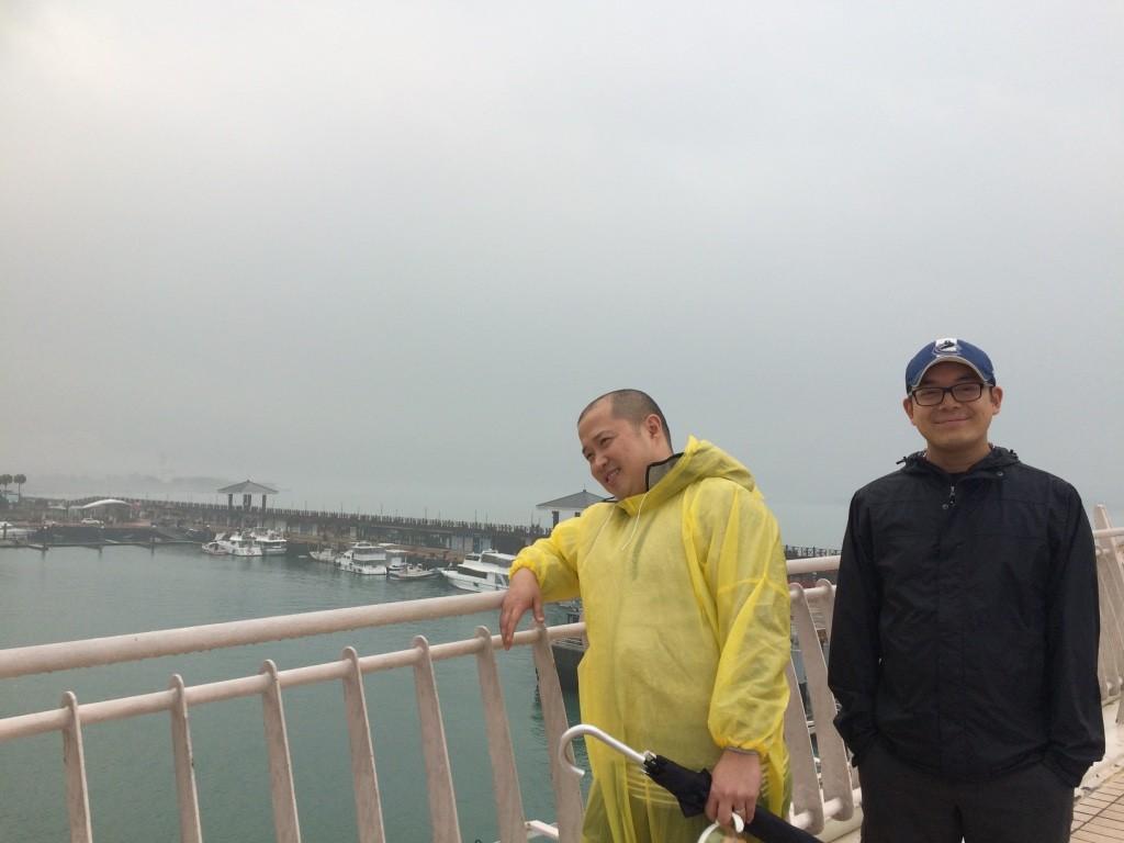 Noel and Tim on the Love Bridge <3
