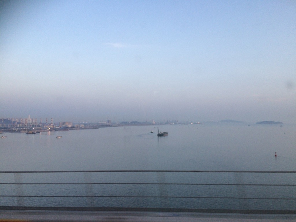 Hazy Incheon