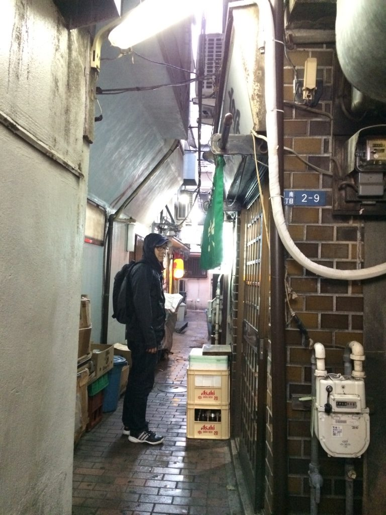 Tiny alleys filled with izakayas