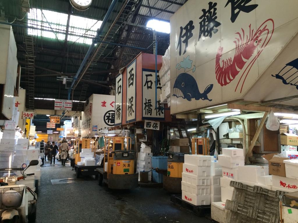 Tokyo (Day 53): Tsukiji, Ginza, Roppongi