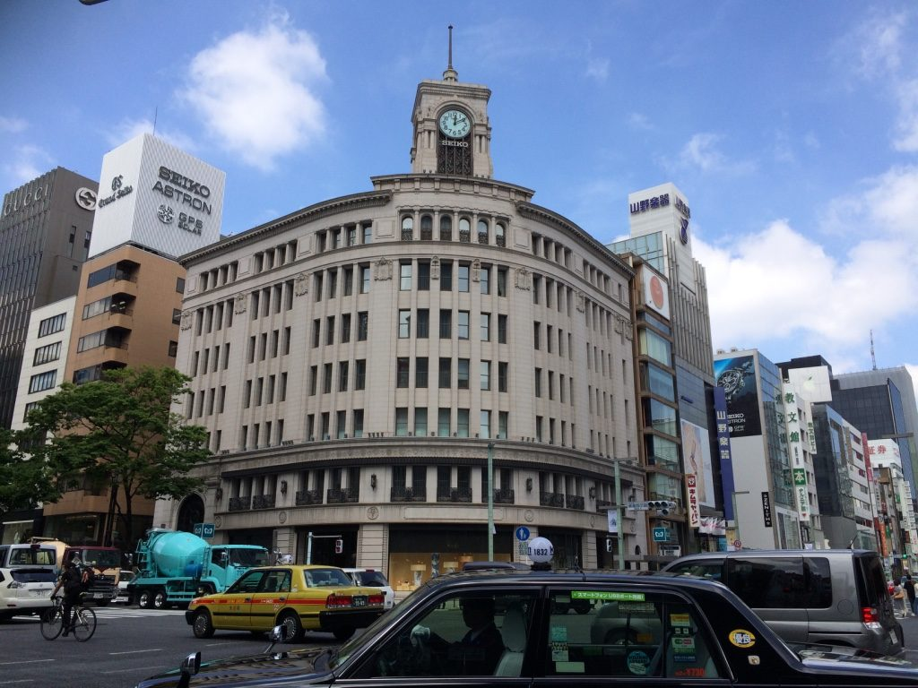 A beautiful day in Ginza