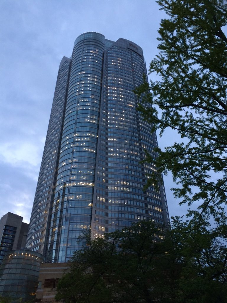 Mori Tower - where Tokyo City Views is located on the 51st floor
