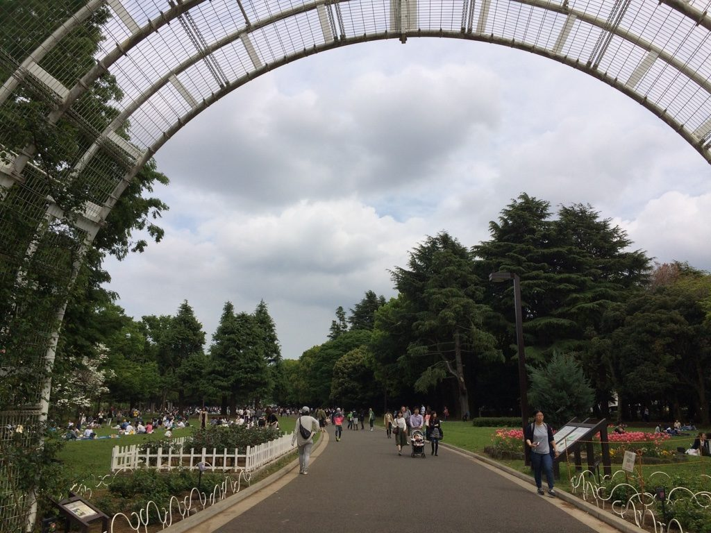A nice day to spend in Yoyogi Park