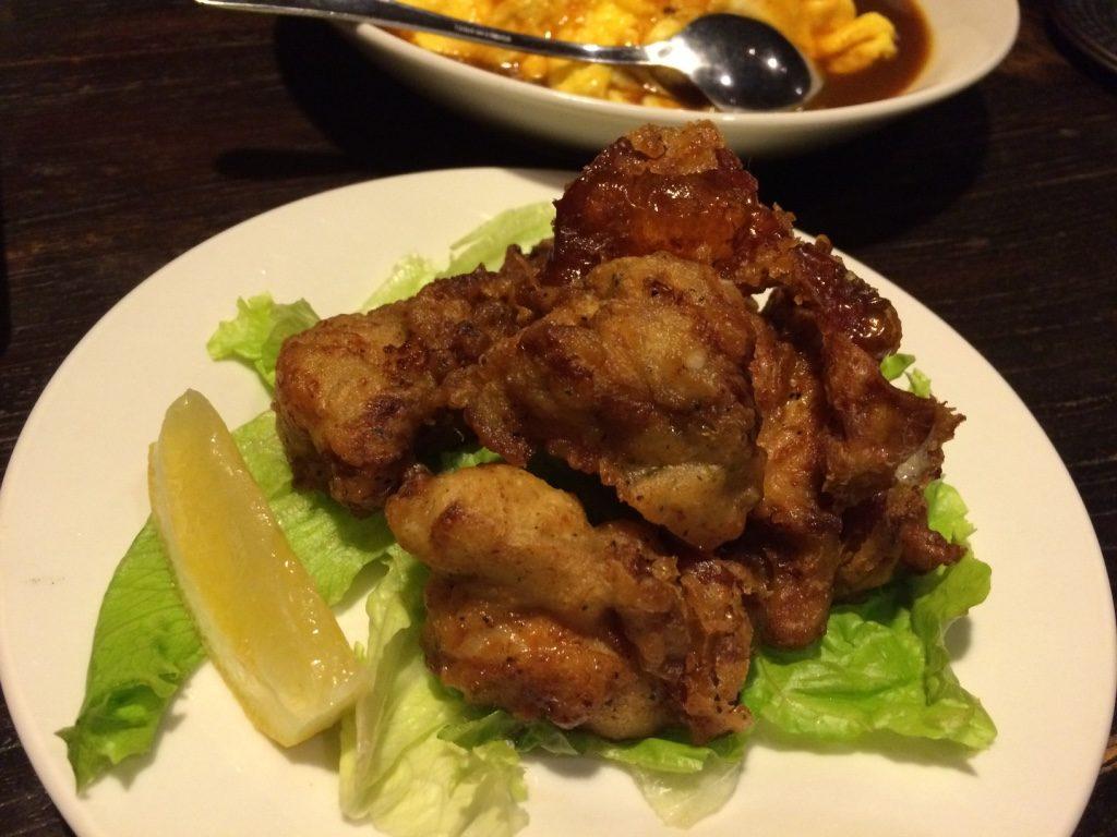 Chicken Karaage 450 JPY = $5.10 CAD