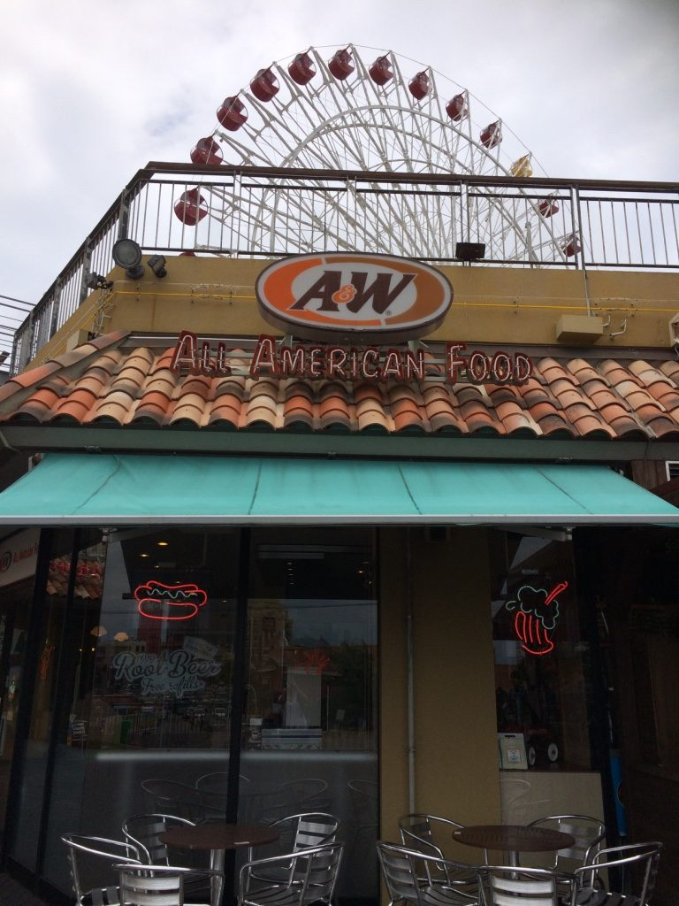 A&W in the American Village
