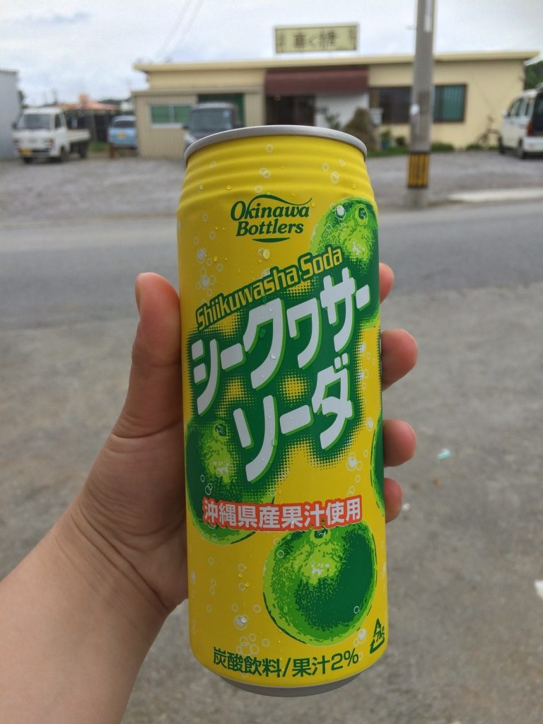Thank goodness for Japanese vending machines. They're everywhere on the side of the road. Yay for cold drinks. 100 JPY = $1.13 CAD