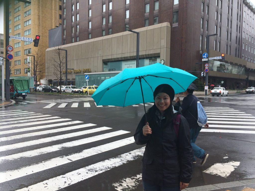 Rainy day in Sapporo