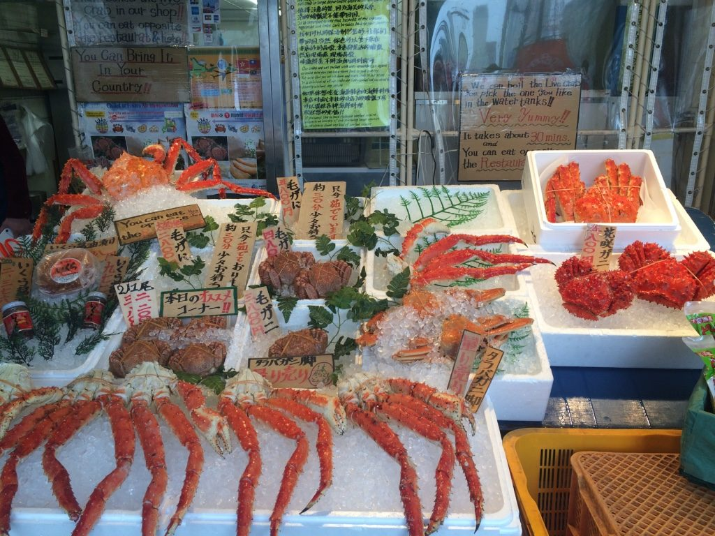 If you buy the crab they can cook and serve it to you in 30 minutes some signs say