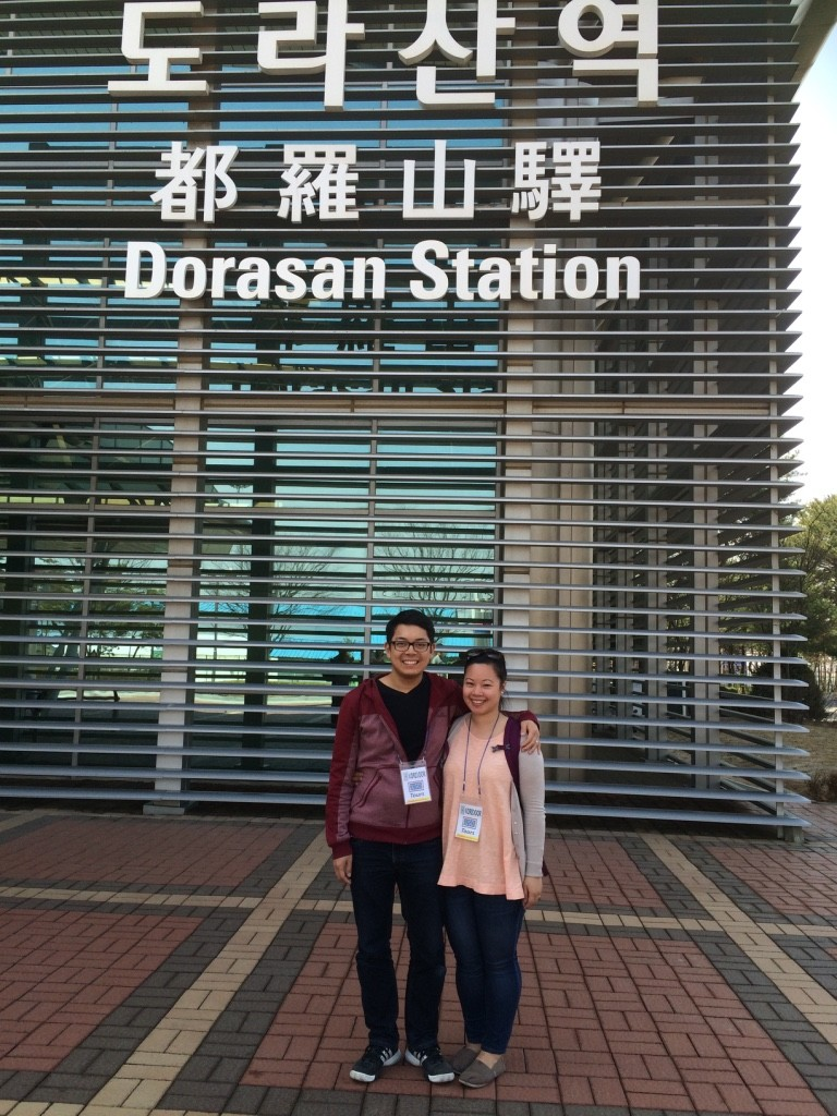 At the deserted Dorasan Station