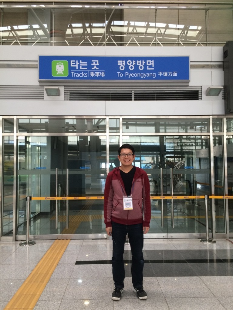 Tim's heading to Pyeongyang..