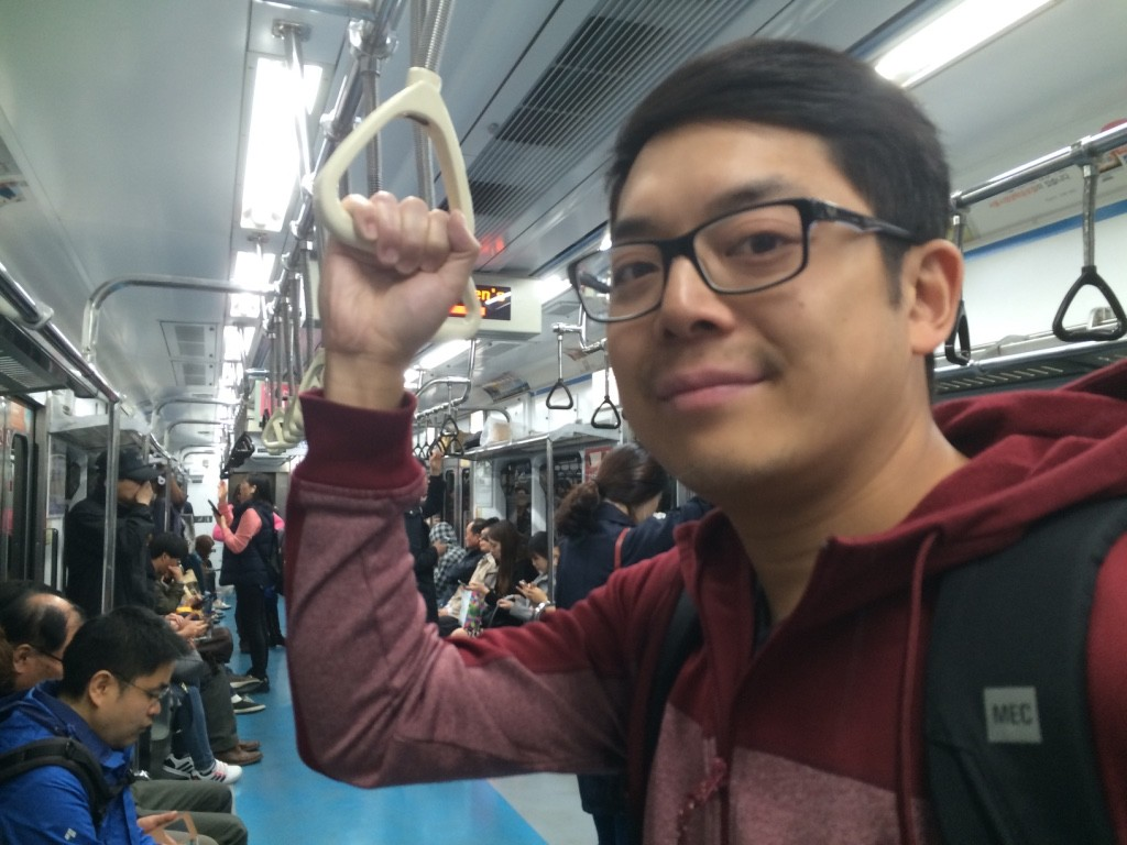 First day using SMRT (Seoul Metro Rapid Transit)