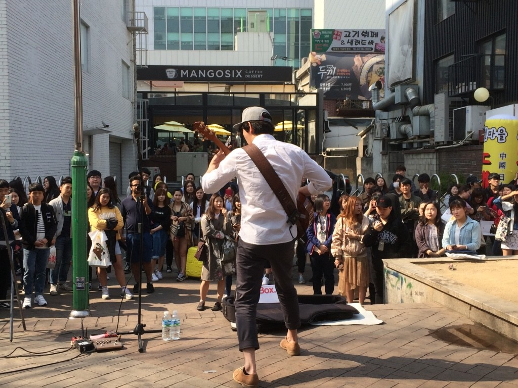 Guitarist was pretty good! He performed early in the afternoon and came back later at night