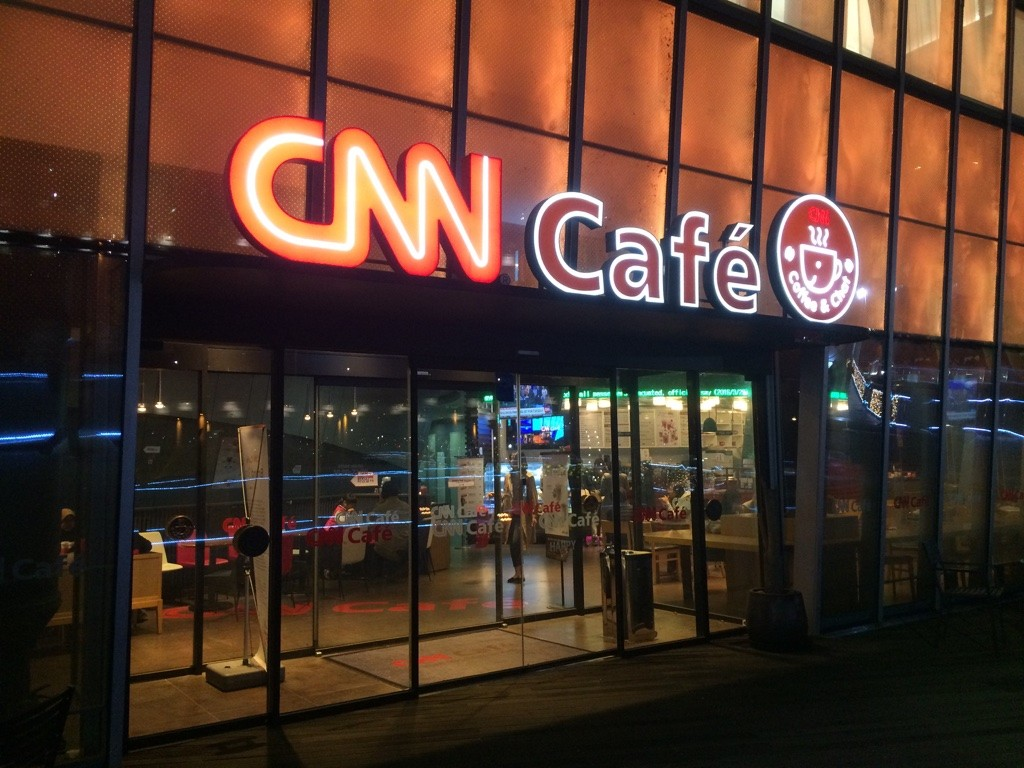 Didn't know CNN was in the restaurant business