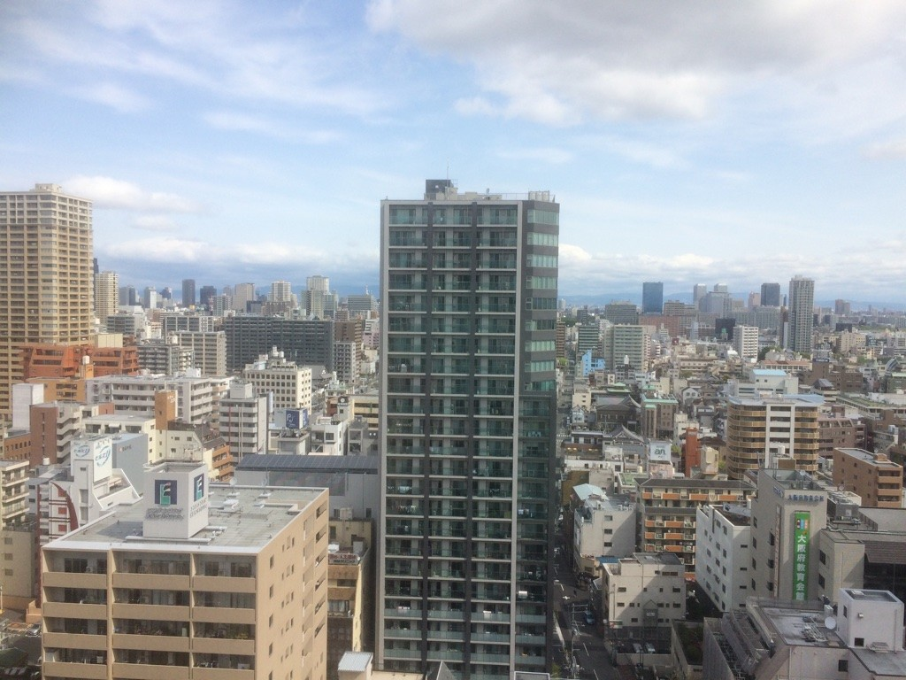 Morning views of Osaka