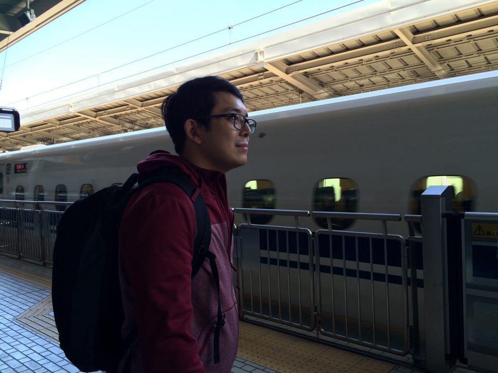 Our Shinkansen to Tokyo