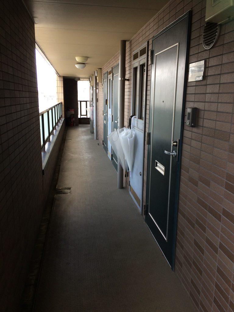 Apartment corridor
