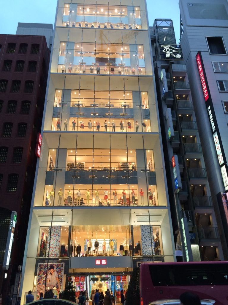 Uniqlo Ginza. Their flagship and biggest store worldwide.