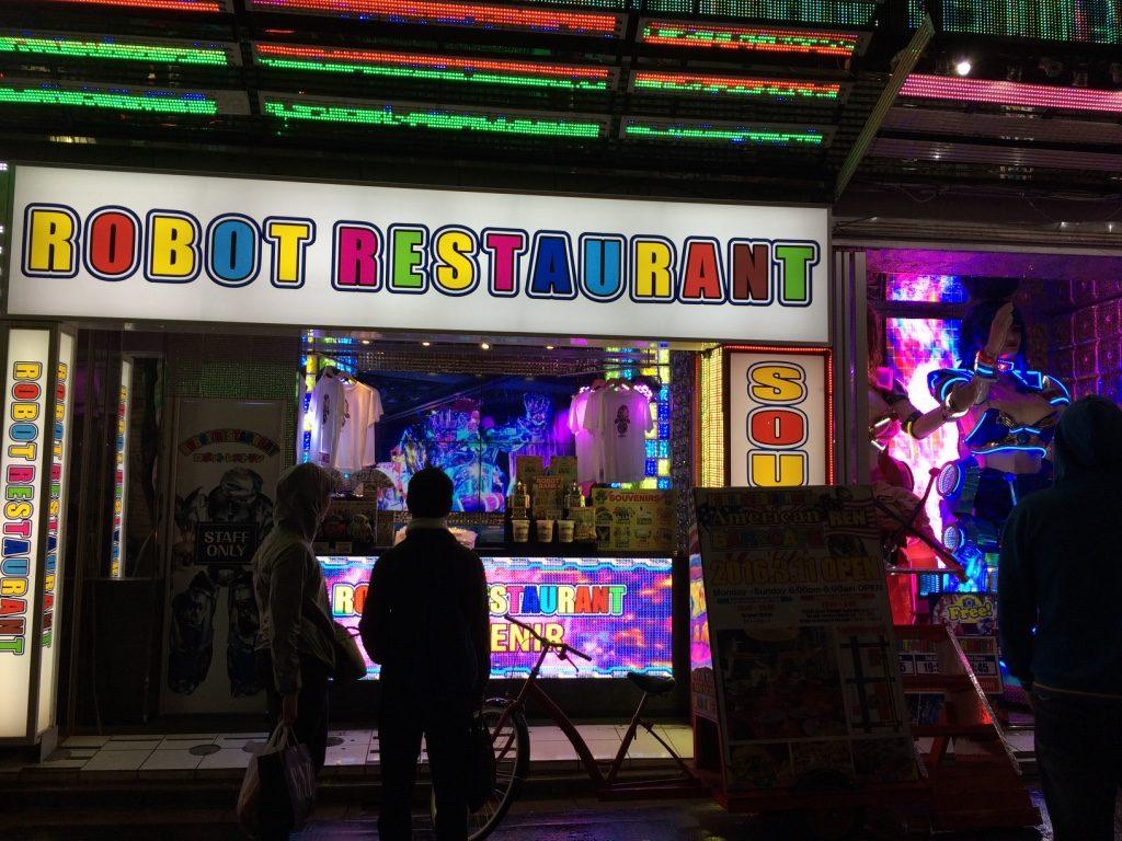 Robot Restaurant Anthony Bourdain went to in Shinjuku
