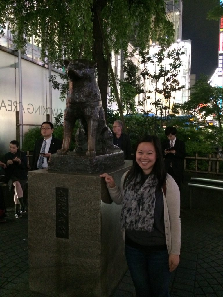 Hachiko Statue. If we get a dog one day, I hope it's as loyal as he was.