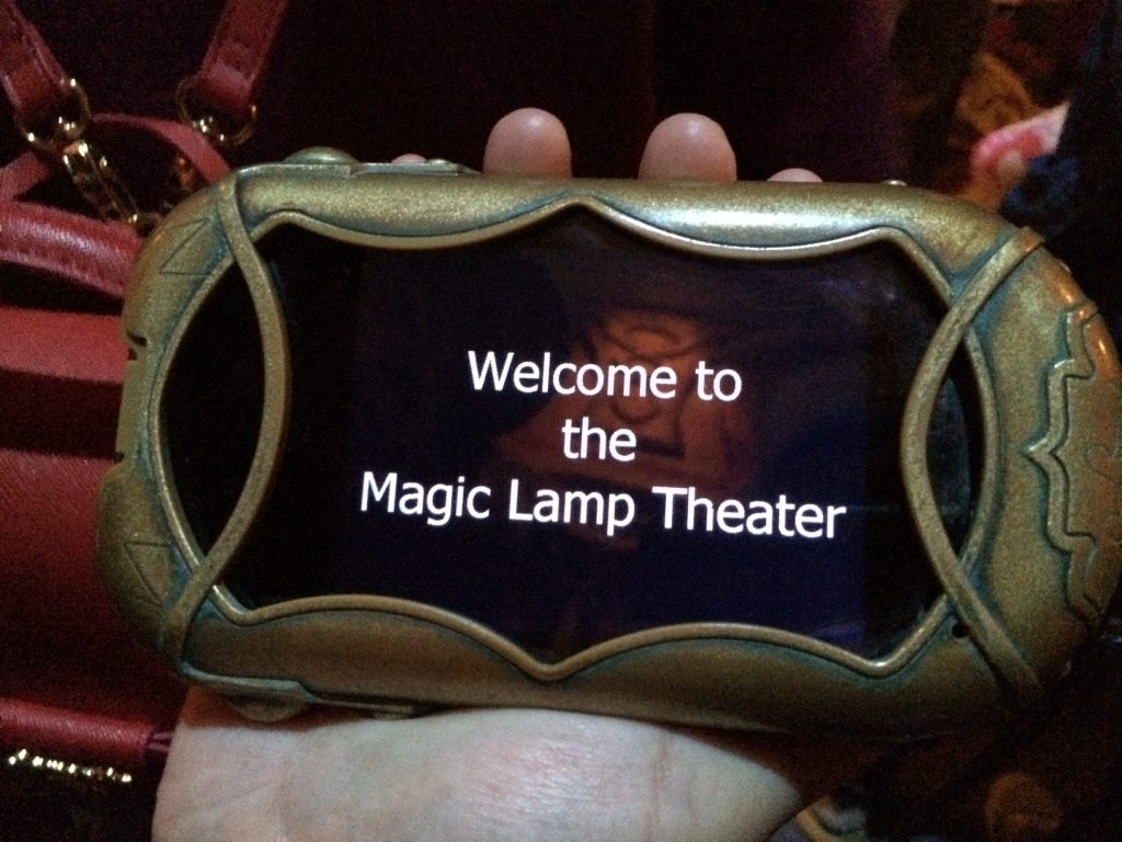 Live theatre shows had devices for English subtitles