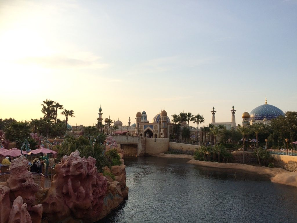 View of Mermaid Lagoon and Arabian Coast