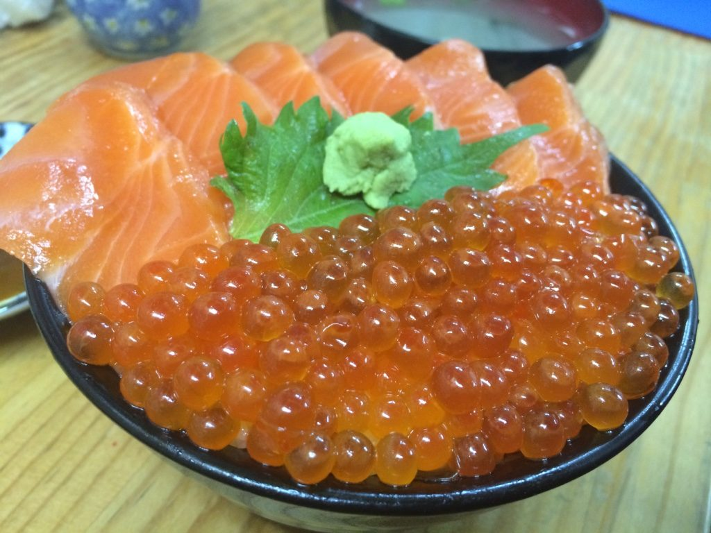 Tim's salmon and salmon roe
