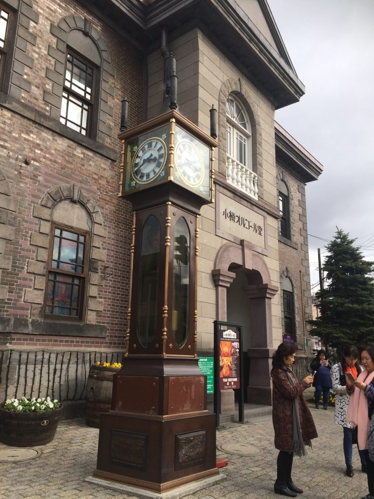 Otaru's steam clock