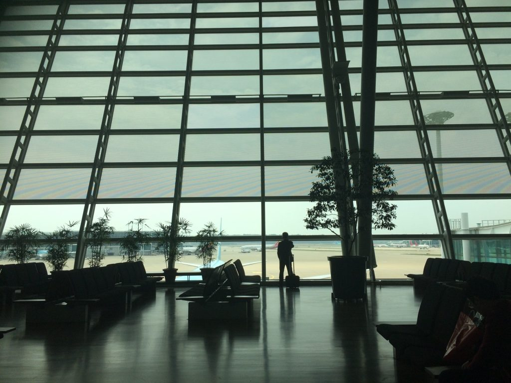 My artsy shot at Incheon