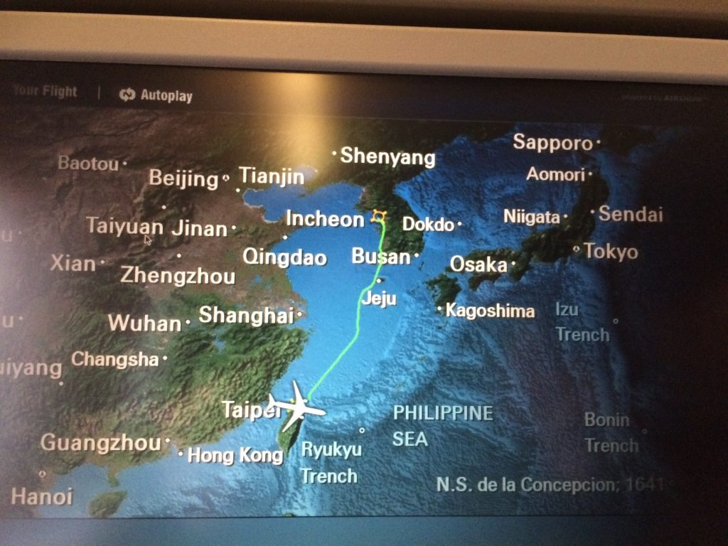 Finally! Sapporo > Incheon > Taipei