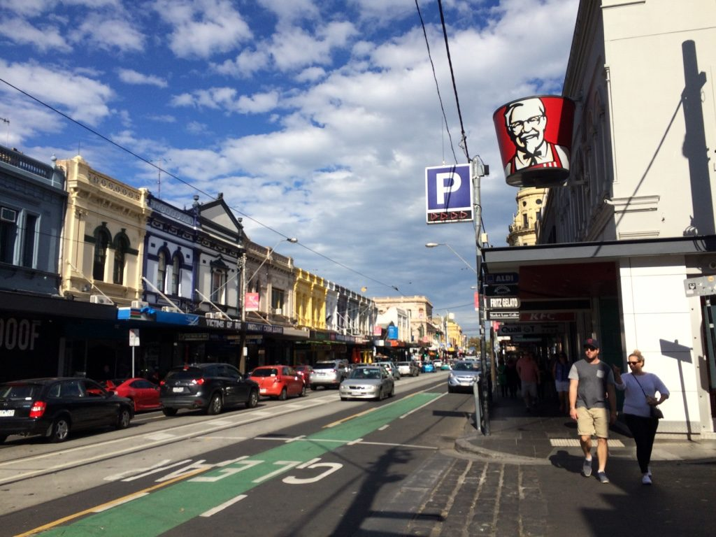 Chapel Street in South Yarra