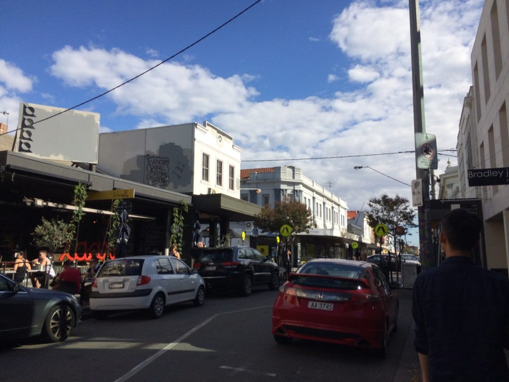 Greville St in South Yarra