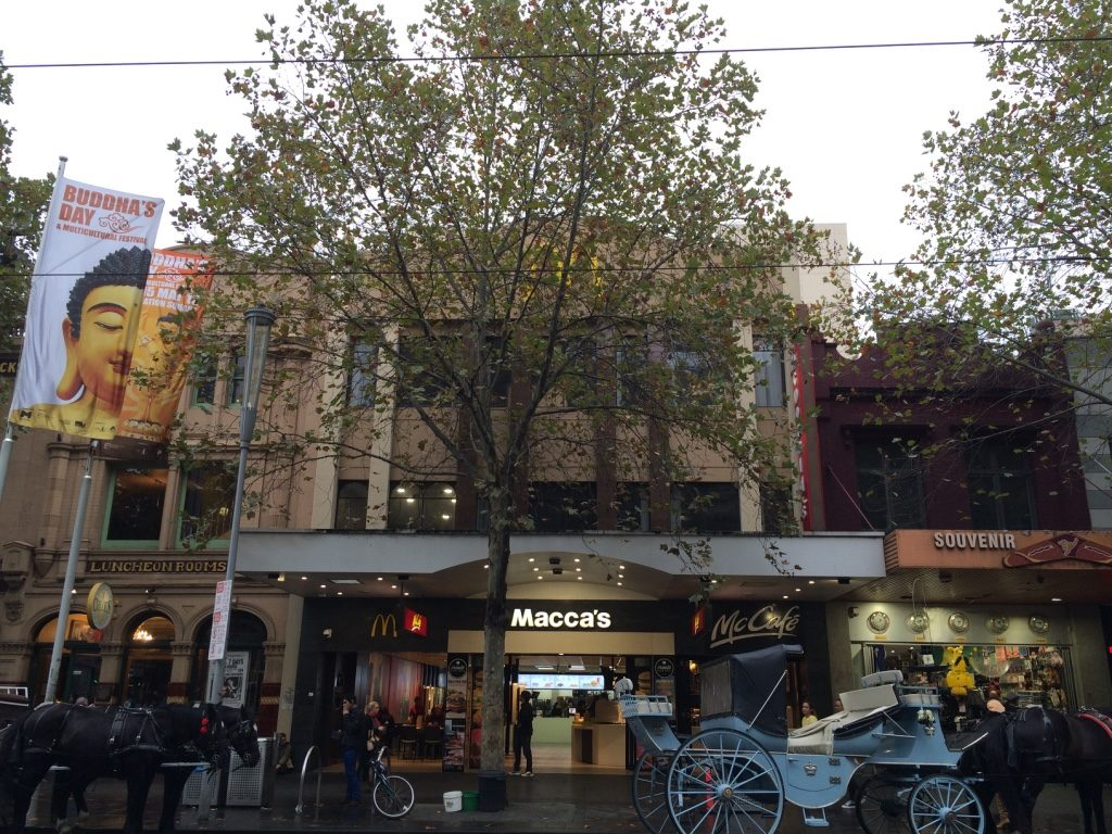 Macca's (McDonald's in Australia)