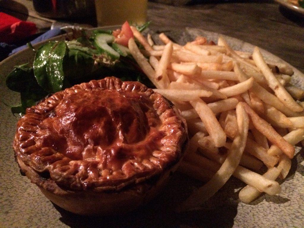 Kangaroo pie ($18 AUD = $17.15 CAD)