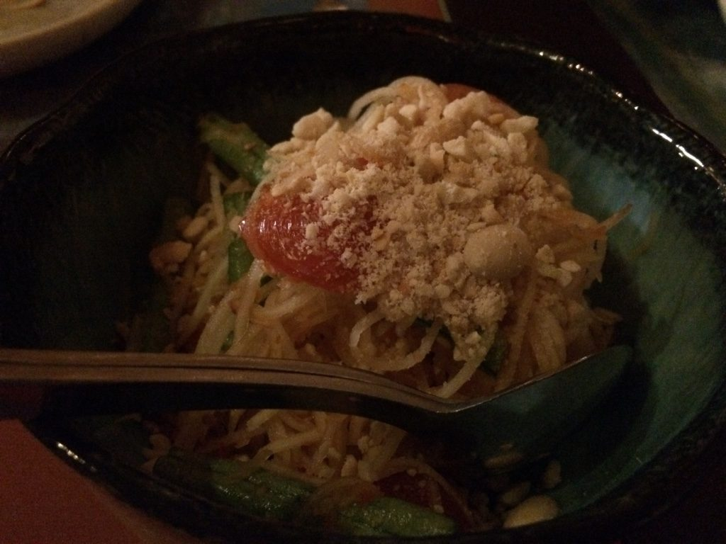 Papaya salad ($17 AUD)