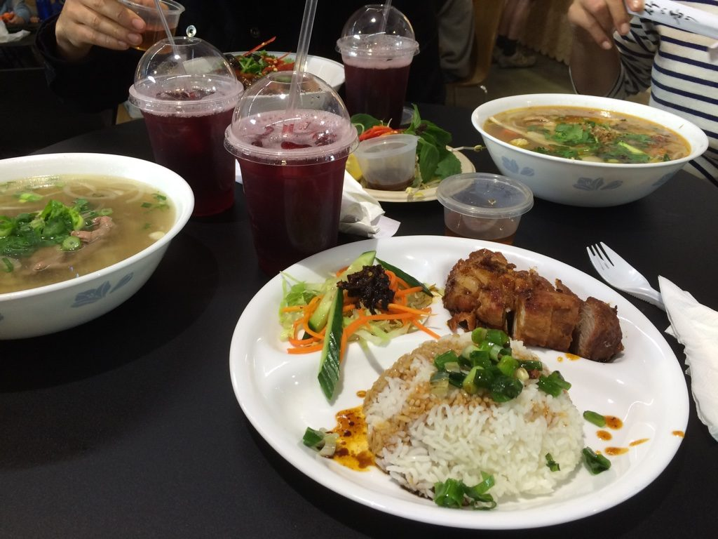 Our Vietnamese lunches with fizzy tea