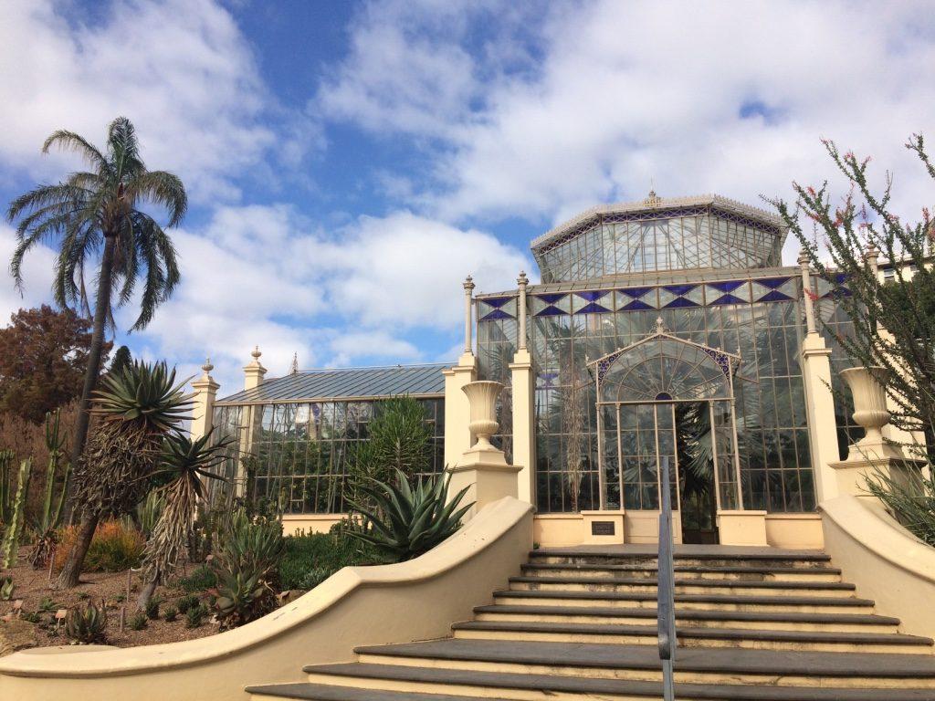 Nice glass building in Adelaide's Botanic Gardens