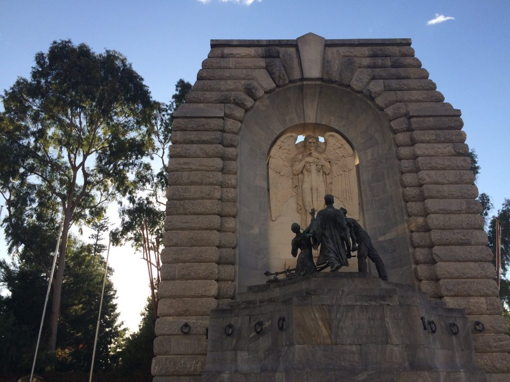 War Memorial on North Terrace Road