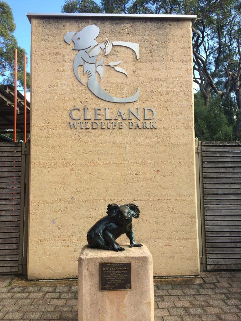 Cleland Wildlife Park entrance