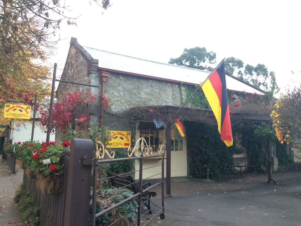 Some of Hahndorf's quaint stores