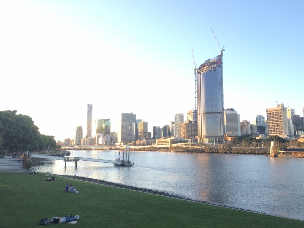 Brisbane is a very laid back city
