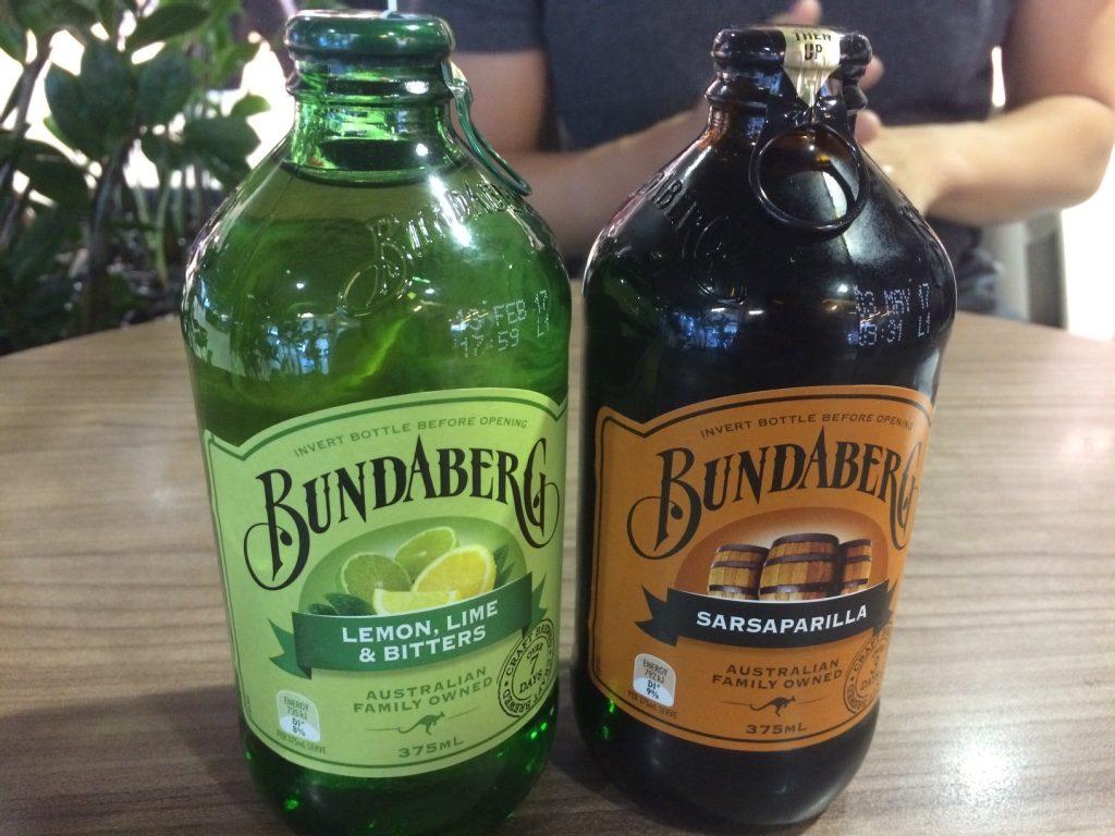 Bundaberg sodas (2 for $6 AUD)