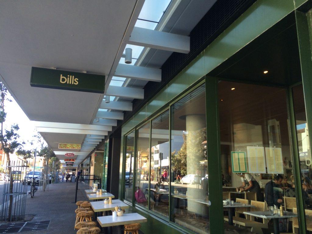 Bill's in Bondi