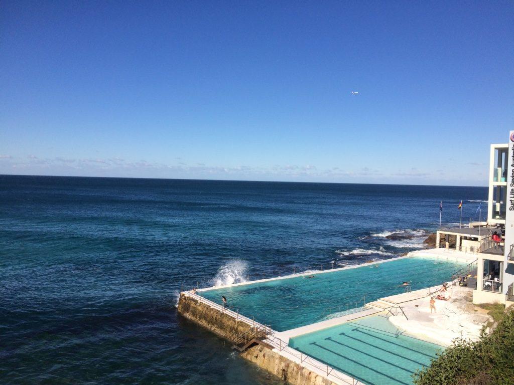 Bondi Iceberg Club pool, open to the public for $6.50 AUD
