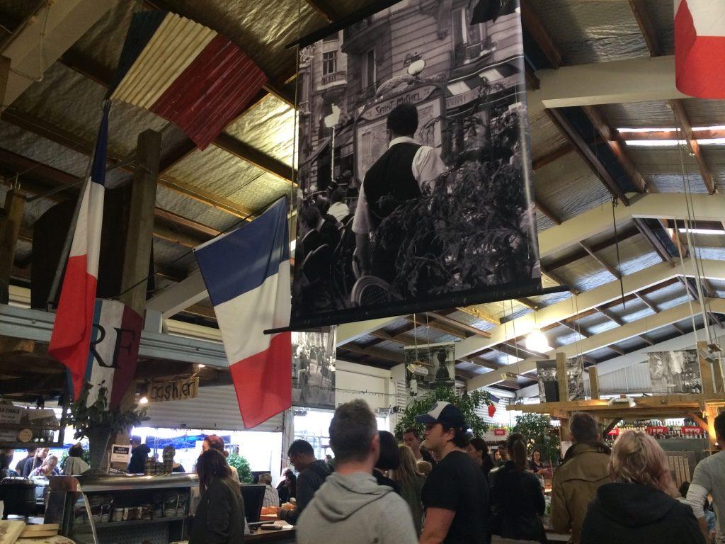 Indoor portion of La Cigale
