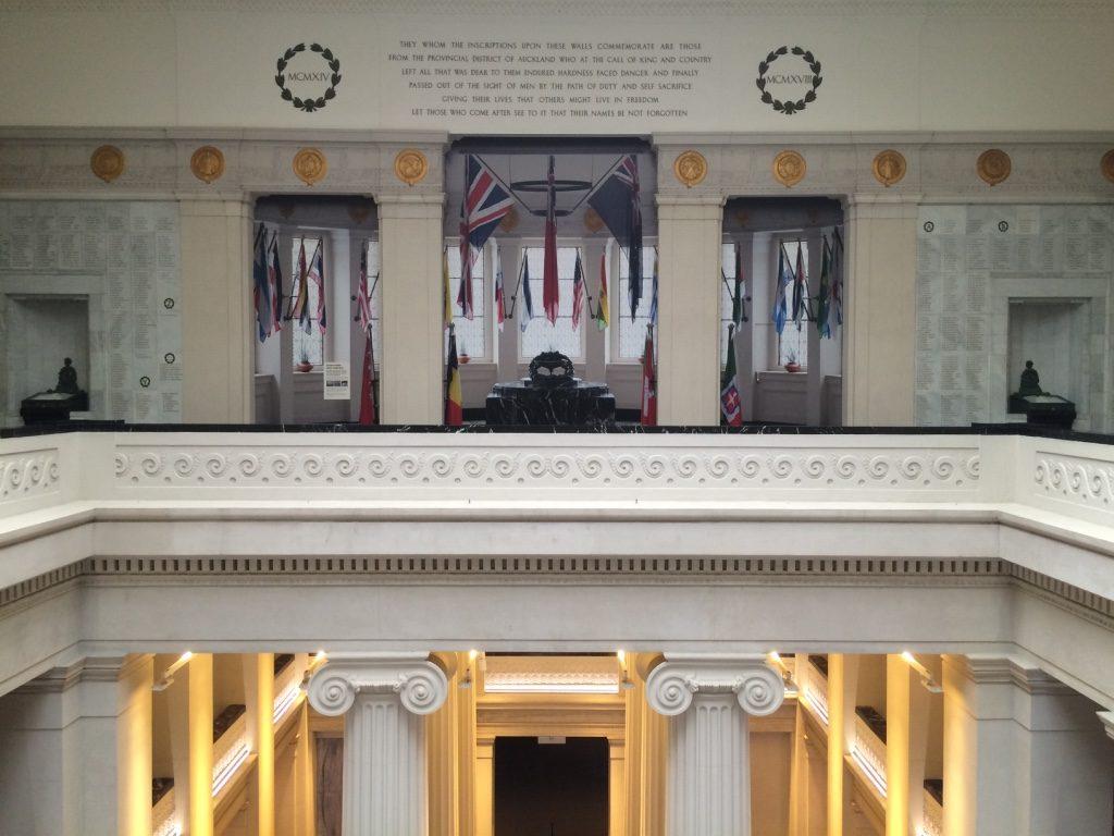War memorial floor of the museum